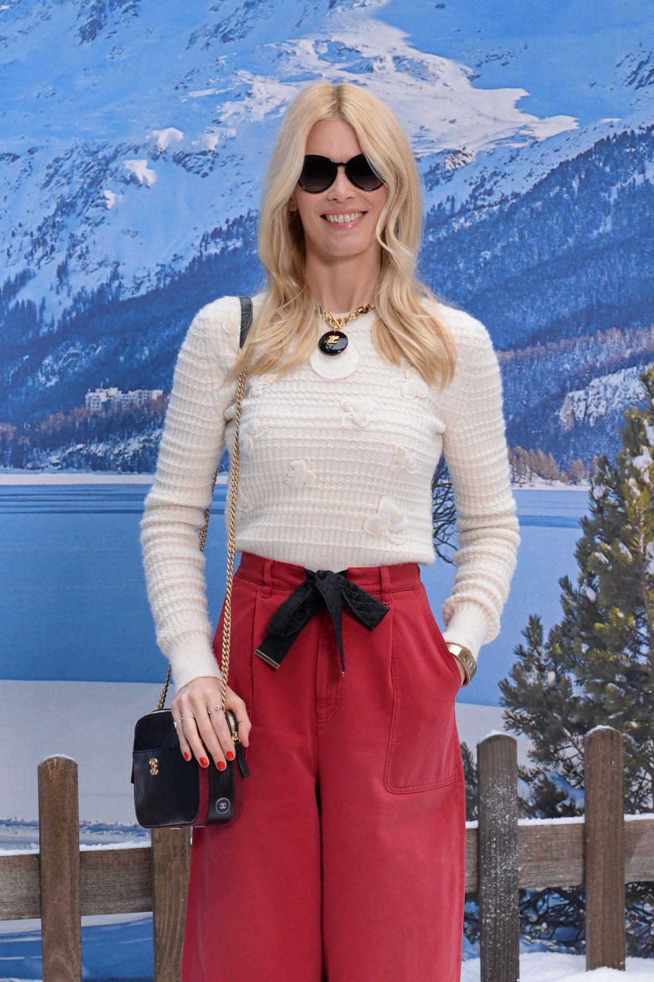 Claudia Schiffer Chanel Fashion Show In Paris 03 05 2019