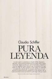 Claudia Schiffer - Hola! Fashion April 2019