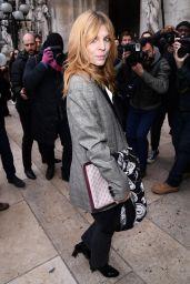 Clemence Poesy – Stella McCartney Fashion Show in Paris 03/04/2019