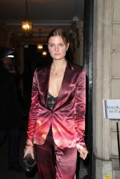 Constance Jablonski – Cocktail Party at the Paris Fashion Week 03/03/2019