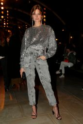 Constance Jablonski – Isabel Marant Fashion Show in Paris 02/28/2019