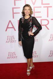 "Cynthia Evans – ""Five Feet Apart"" Premiere in Los Angeles"