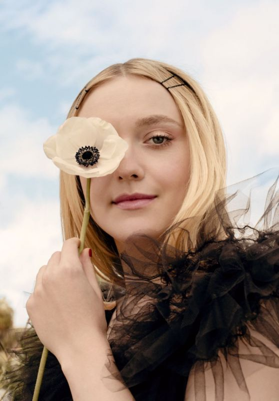 Dakota Fanning - Photoshoot for InStyle Magazine April 2019