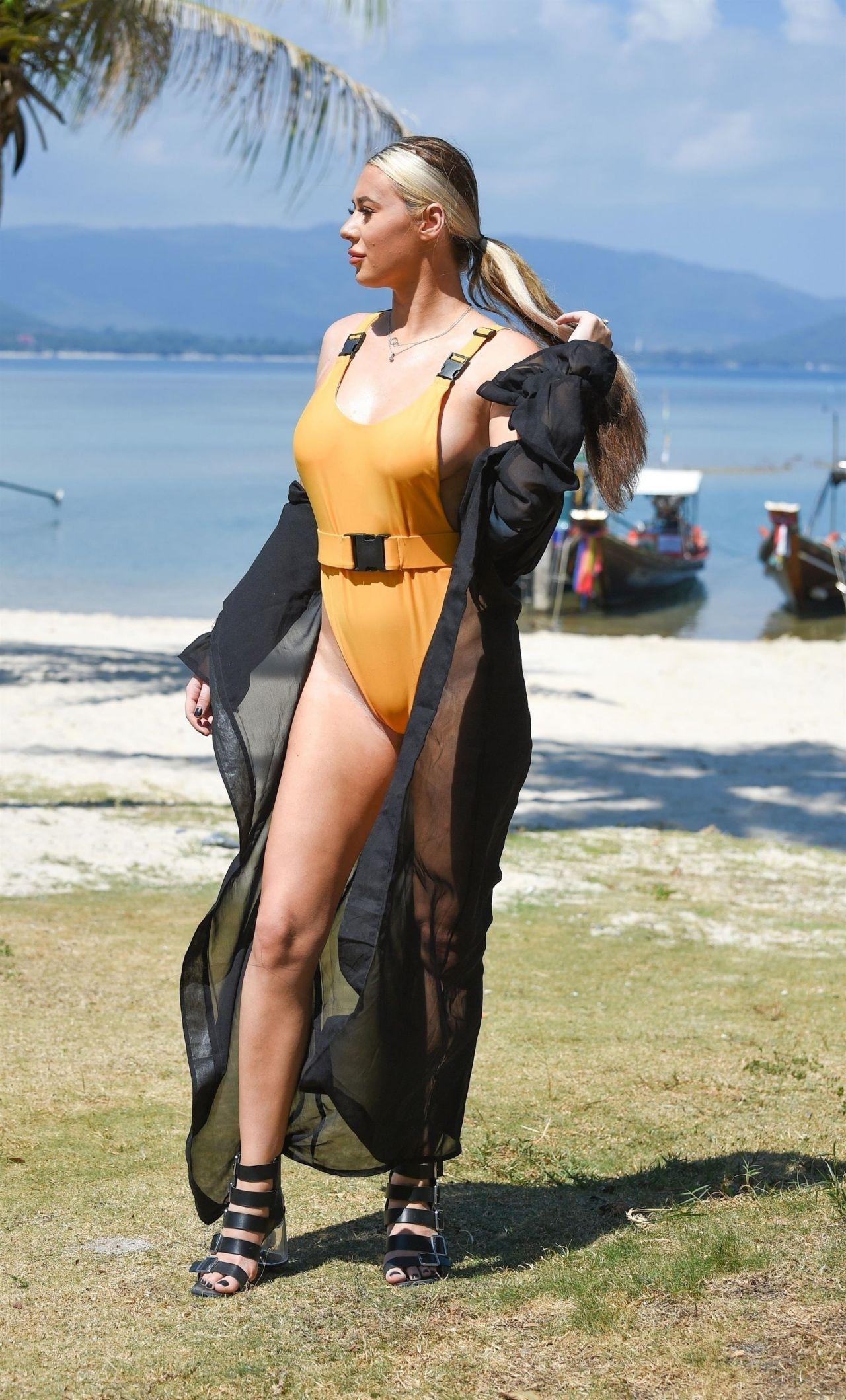 Nude beach at thailand