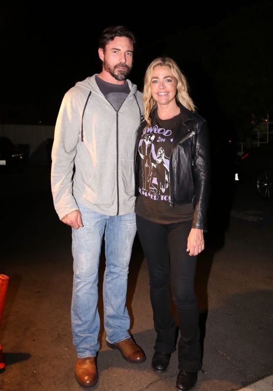 Denise Richards at Giorgio Baldi in Santa Monica 03/20/2019