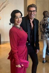 Dita Von Teese – 2019 GLAAD Media Awards in Beverly Hills
