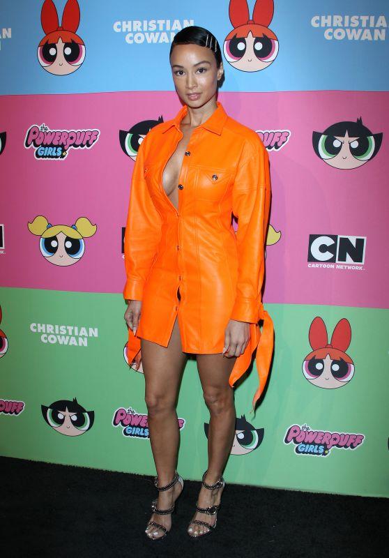 Draya Michele – Christian Cowan x The Powerpuff Girls in LA 03/08/2019