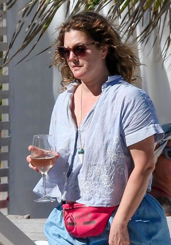 Drew Barrymore - Vacation in Tulum 03/17/2019