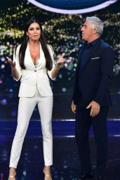 "Elisabetta Gregoraci - ""Made in Sud"" TV Show in Naples 03/18/2019"