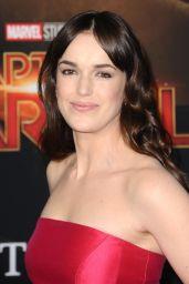 "Elizabeth Henstridge – ""Captain Marvel"" Premiere in Hollywood"