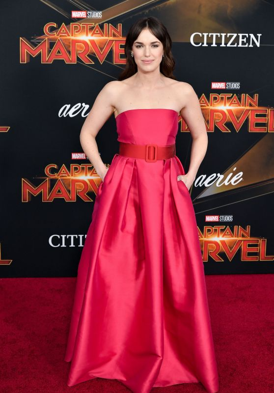 "Elizabeth Henstridge – ""Captain Marvel"" Premiere in Hollywood"
