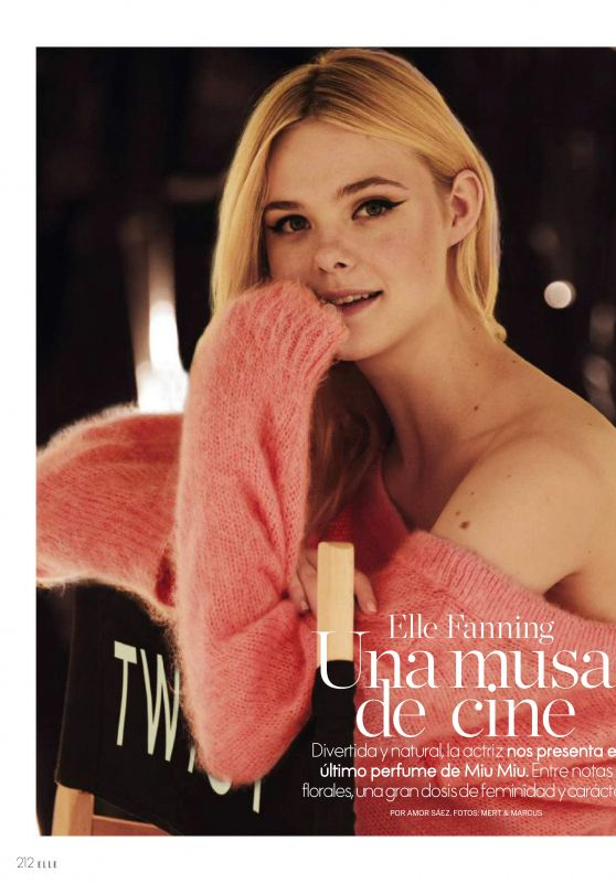 Elle Fanning - ELLE Spain April 2019 Issue