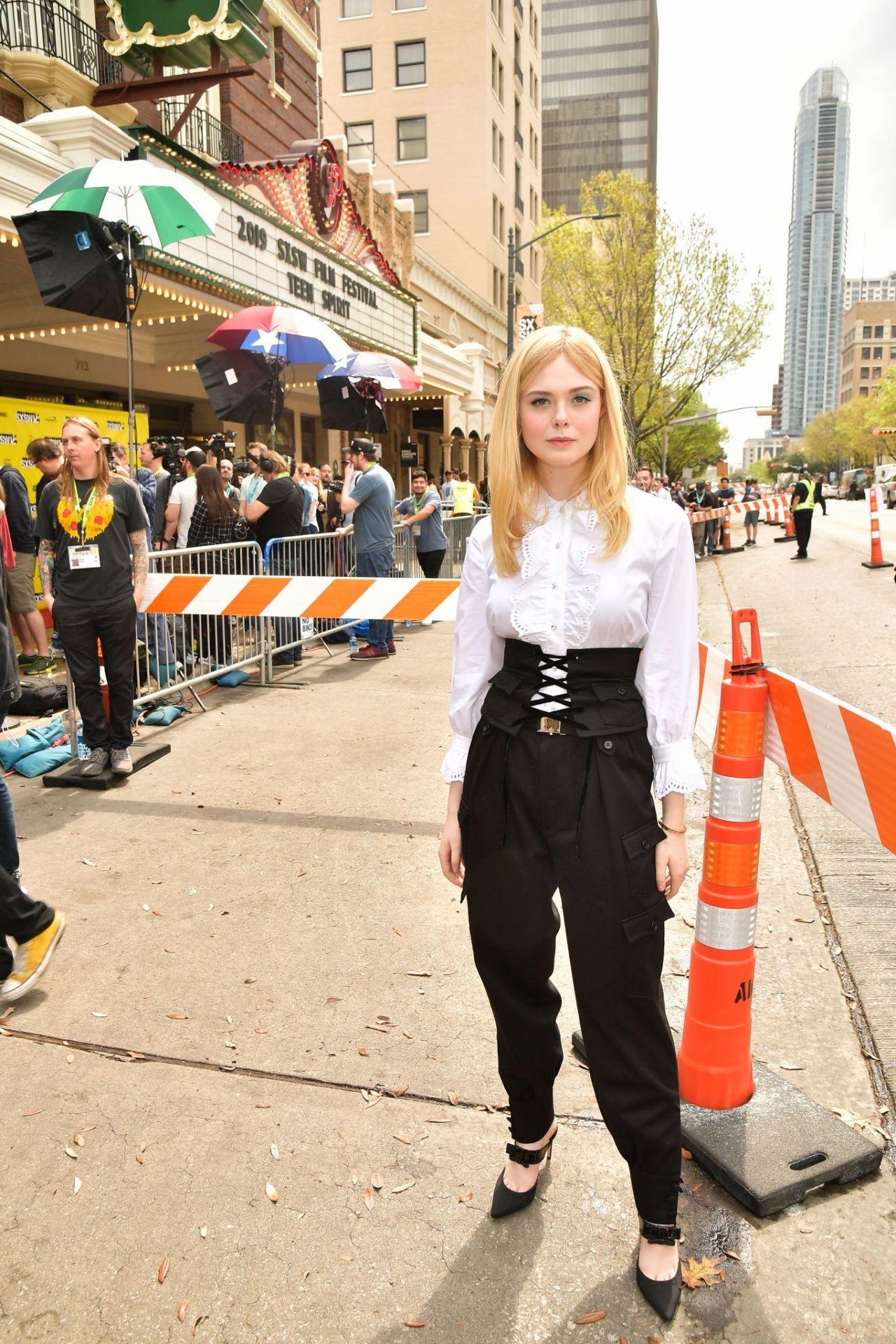 Elle Fanning Teen Spirit Premiere At Sxsw In Austin