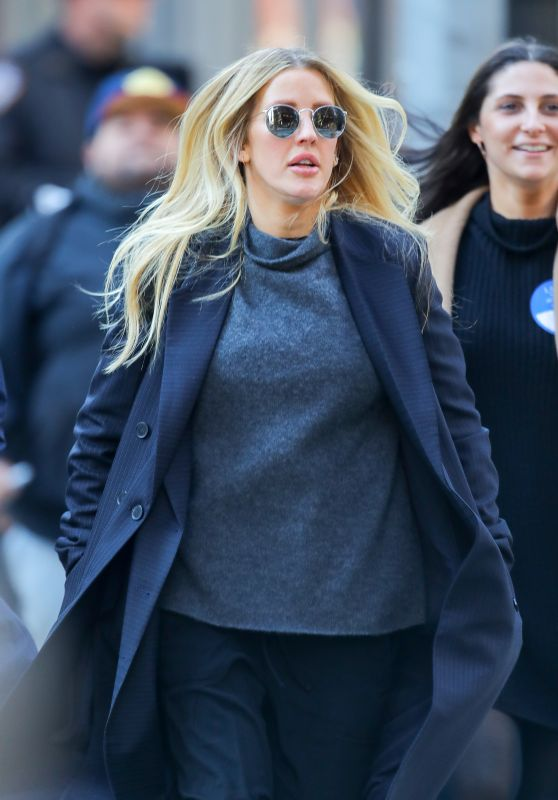 Ellie Goulding - Out in NYC 03/11/2019