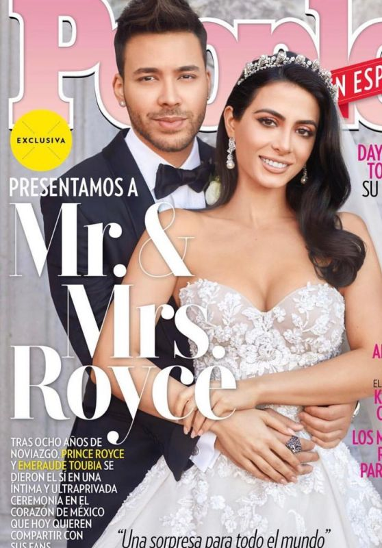Emeraude Toubia and Prince Royce - People Magazine Spain April 2019 Cover