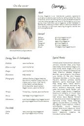 Emeraude Toubia - Grumpy Magazine #13