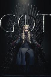 Emilia Clarke – Game of Thrones Season 8 Promo Photos