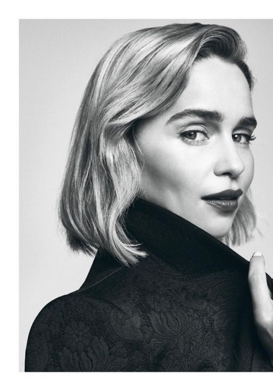 Emilia Clarke - Palace Costes 76 Magazine March 2019 Issue