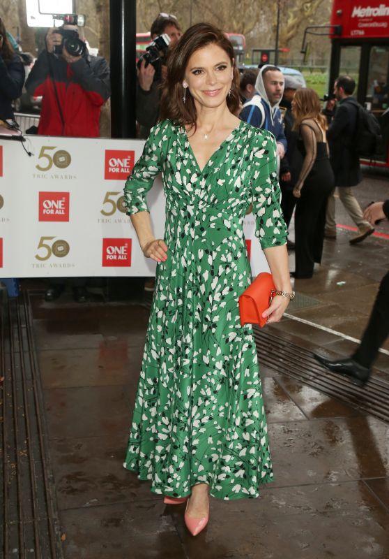 Emilia Fox – The TRIC Awards 2019