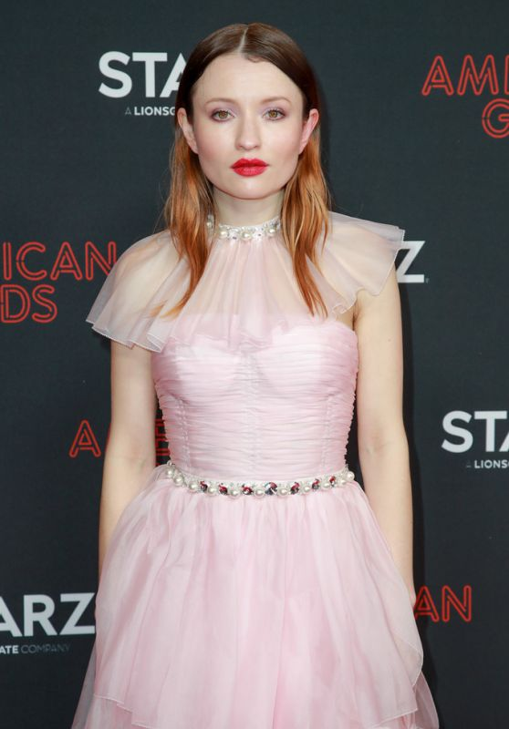 "Emily Browning - ""American Gods"" Season Two Premiere in LA"