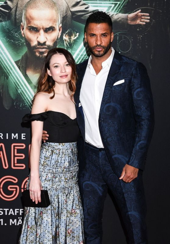 "Emily Browning - ""American Gods"" Season Two Screening in Munich"
