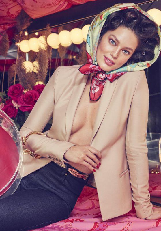 Emily DiDonato - Brandon Maxwell Ad Campaign Spring/Summer 2019