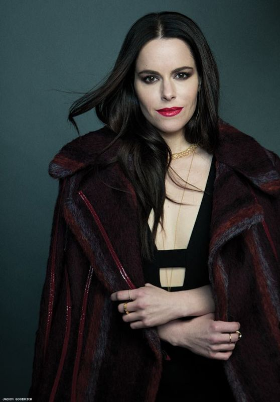 Emily Hampshire - The Advocate March 2019