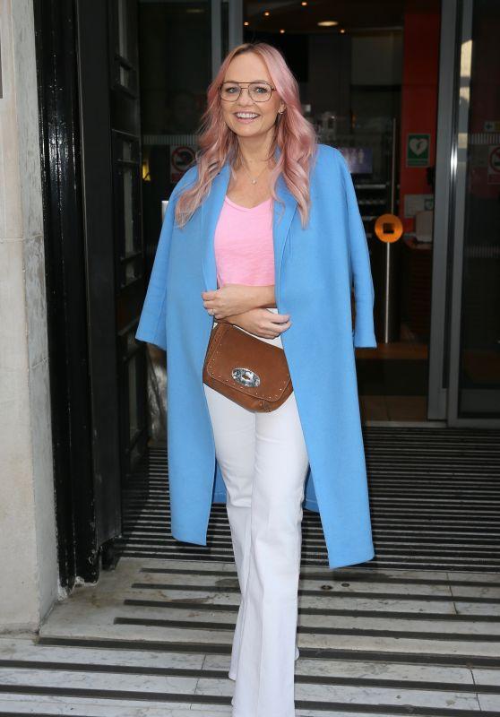 Emma Bunton at BBC Radio Two Studios in London 02/27/2019