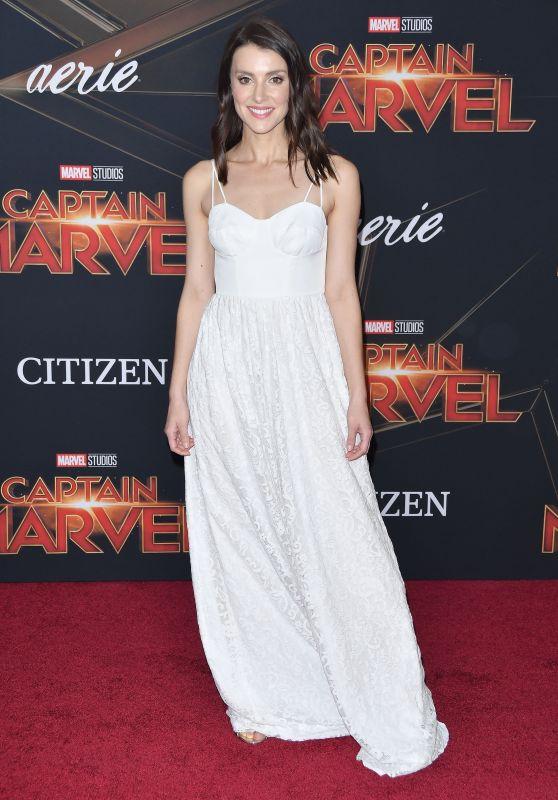 """Emma Lahana – """"Captain Marvel"""" Premiere in Hollywood"""