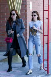 Emma Roberts and Girlfriend - Out in Los Angeles 03/17/2019
