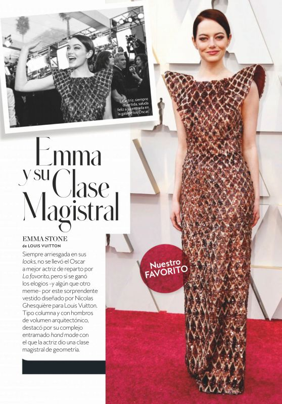Emma Stone - InStyle Spain April 2019 Issue