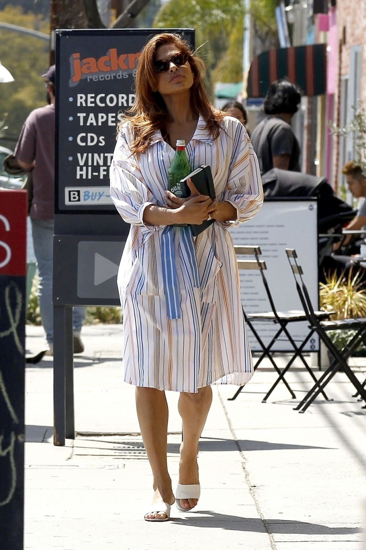 Eva Mendes - Out in LA...
