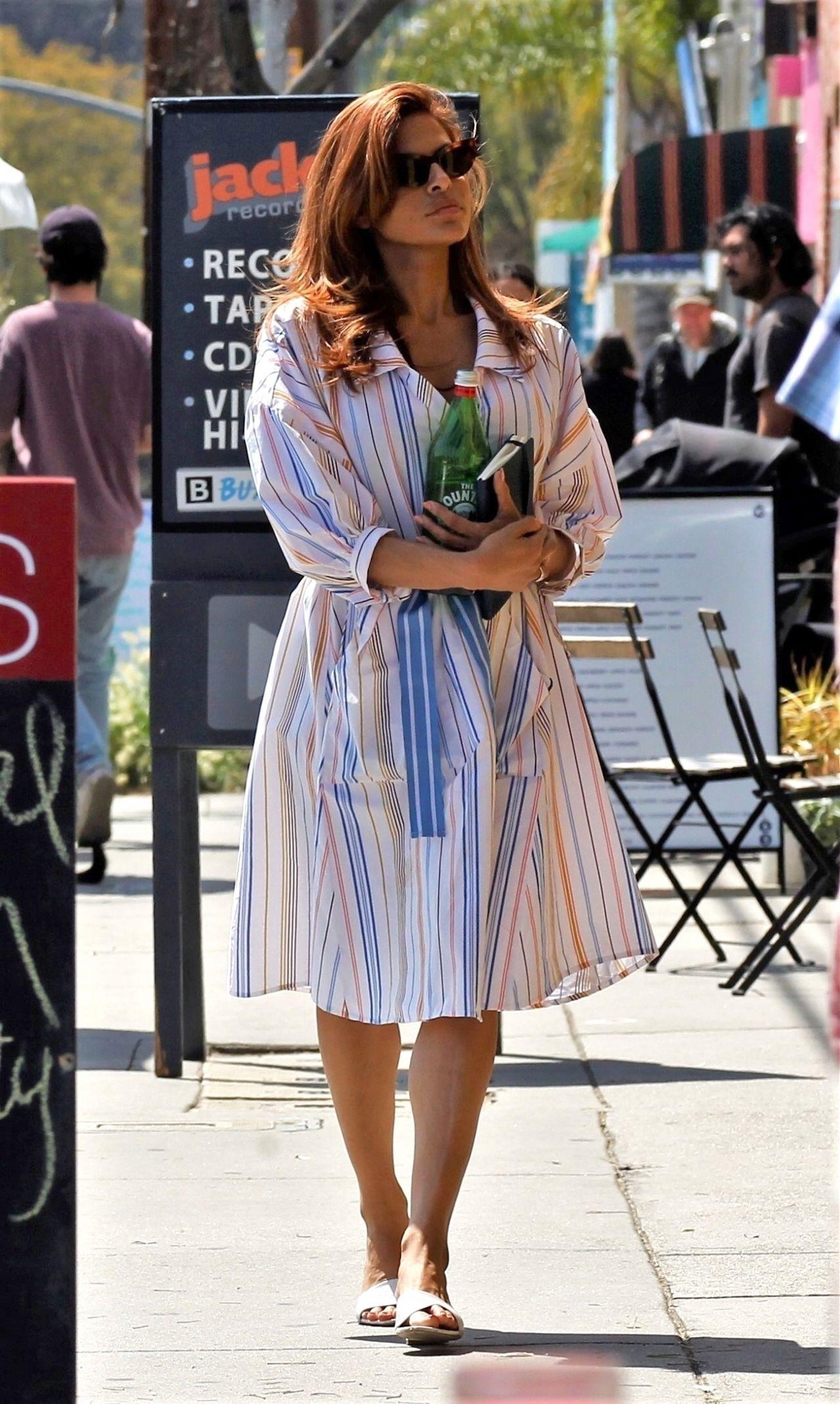 Eva Mendes - Out in LA 03/25/2019