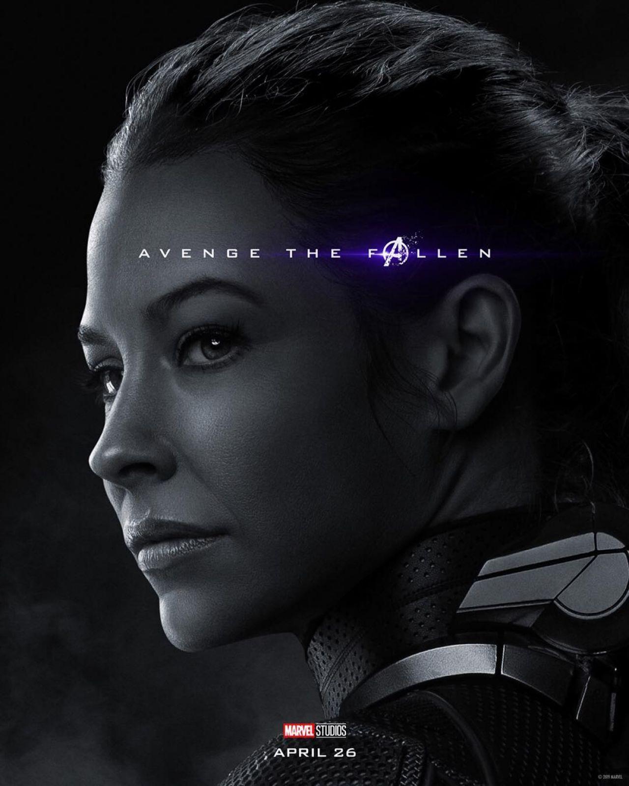 Evangeline Lilly Avengers Endgame 2019 Promo Poster Celebmafia