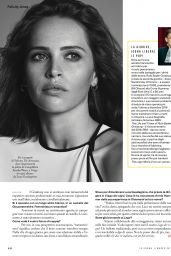 Felicity Jones - iO Donna Del Corriere Della Sera Magazine March 2019
