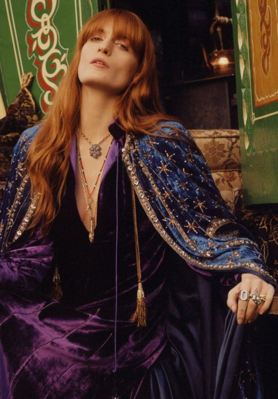 Florence Welch - Gucci Jewelry Campaign 2019