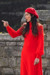 Freida Pinto - Movie Set in Pimrose Hill 03/28/2019