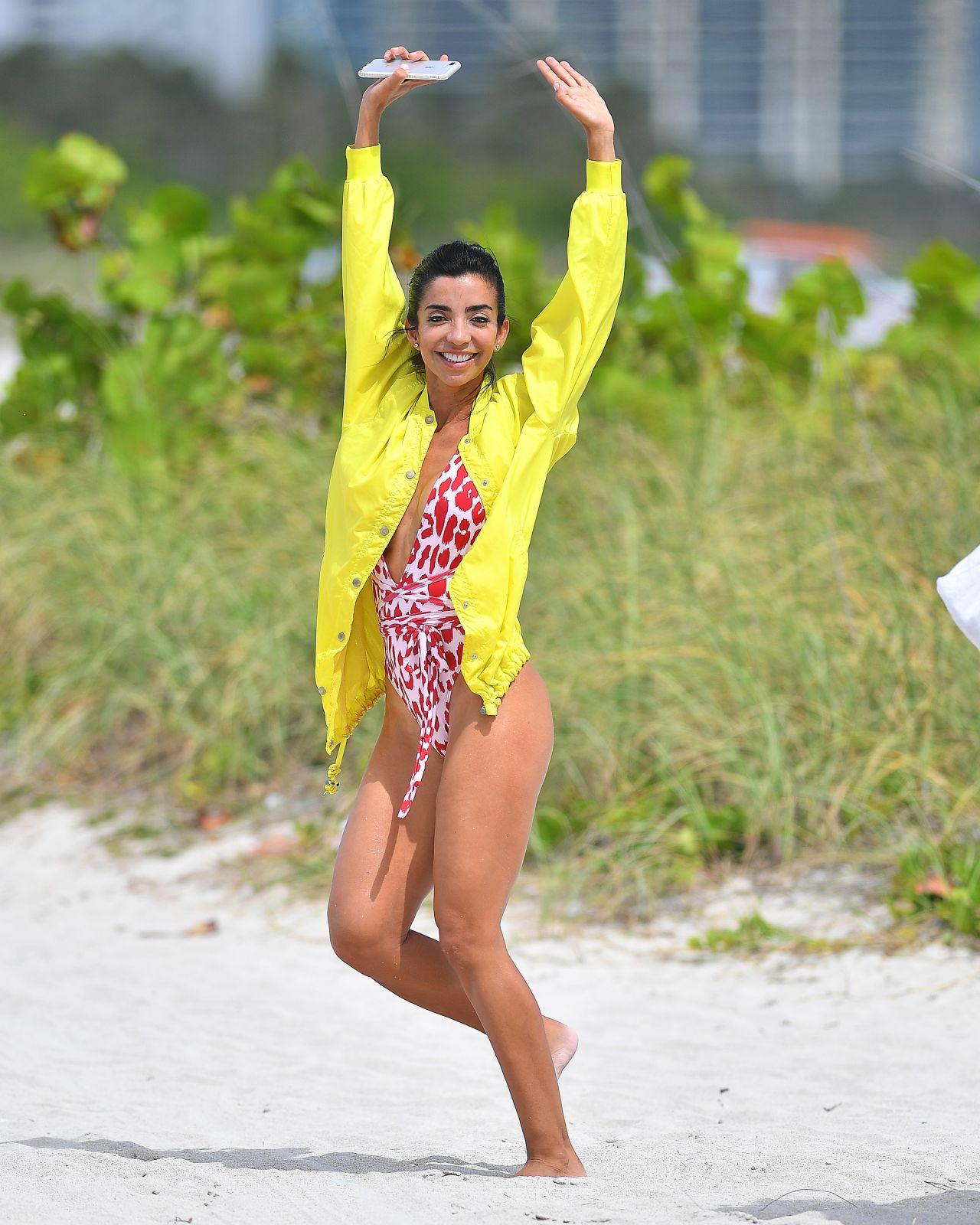 From Miami TV Show Girls In Bikinis On Miami Beach 03/13/2019