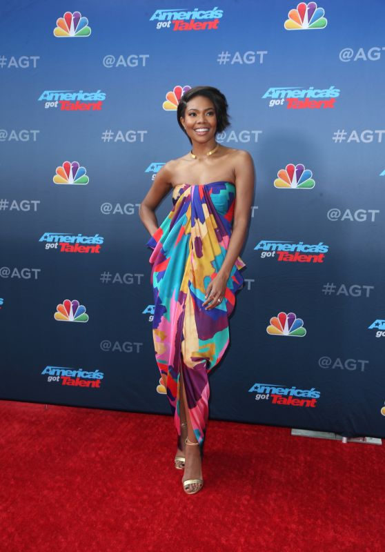 Gabrielle Union - America's Got Talent Season 14 Red Carpet in Pasadena