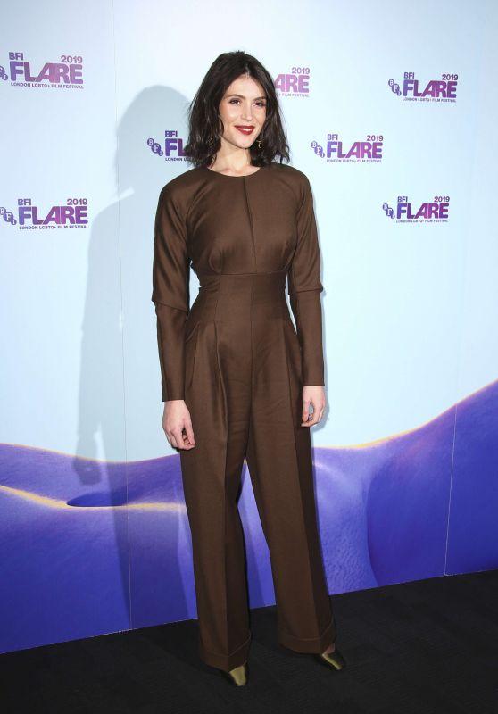 "Gemma Arterton - ""Vita & Virginia"" Premiere &  33rd BFI FLARE Film Festival Opening Night Gala"