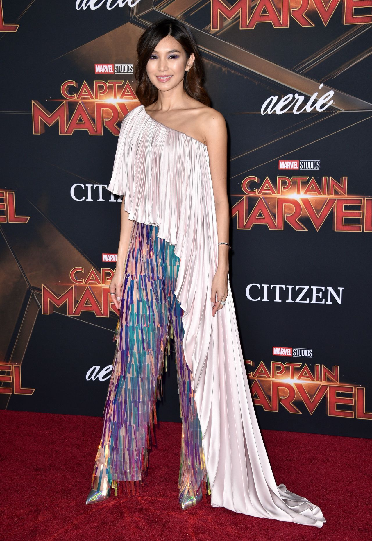 Gemma Chan Captain Marvel Premiere In Hollywood