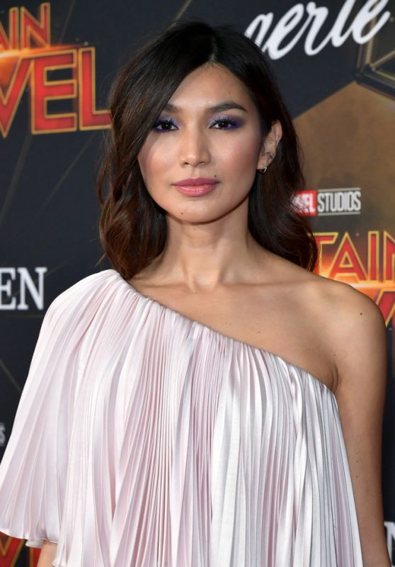 "Gemma Chan – ""Captain Marvel"" Premiere in Hollywood"