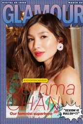 Gemma Chan - Glamour Magazine UK March 2019 Issue