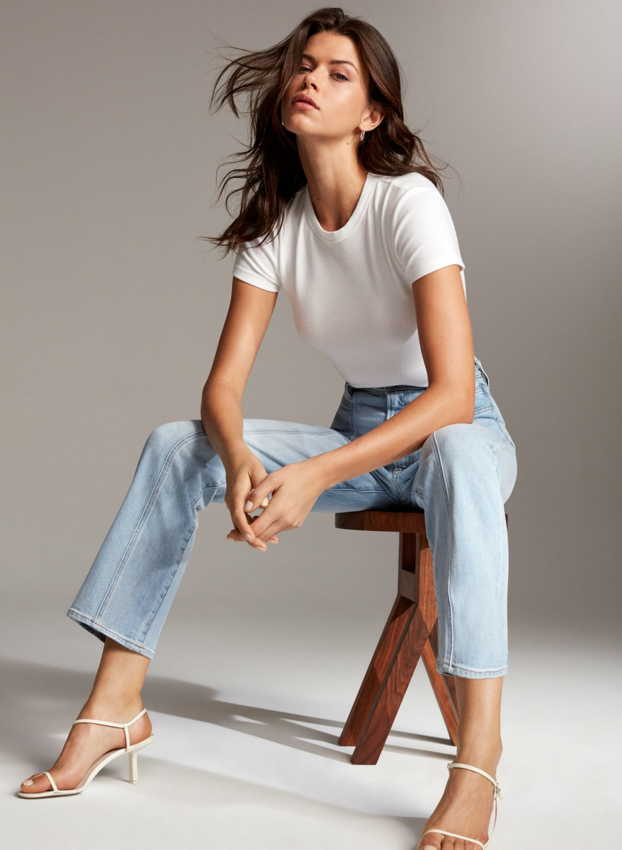 Georgia Fowler - Modeling for Aritzia Jeans March 2019