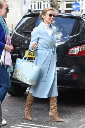 Geri Halliwell is Stylish - Out in London 03/25/2019