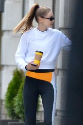 Gigi Hadid - Leaving the Gym in NY 03/22/2019