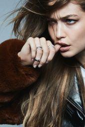 "Gigi Hadid - Messika by GiGi Hadid ""My Twin Collection"" 2019"