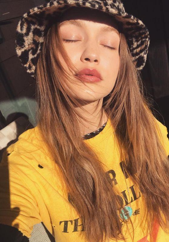 Gigi Hadid - Personal Pics 03/19/2019