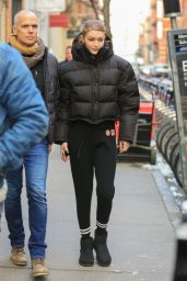 Gigi Hadid - Photoshoot for Maybelline in New York City 03/07/2019