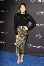 "Gina Rodriguez - ""Jane The Virgin"" and ""Crazy Ex-Girlfriend"" Presentation at PaleyFest in LA"